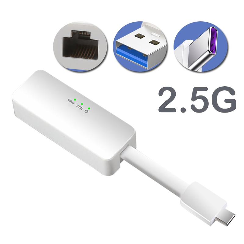 USB c إلى إيثرنت 3.0 إلى 12 جيجابت ، محولات شبكة إيثرنت 2.5g/type-c ، بطاقة الشبكة ، win7/8/10/xp ، USB إلى RJ45 lan