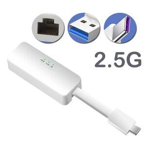 USB c к ethernet USB 3,0 к gigabits ethernet сетевые адаптеры 2,5g/type-c порты RJ45 сетевая карта win7/8/10/xp usb к rj45 lan