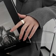 Simple Bracelet Ring Female Special-Interest Design Open Adjustable Diet Ring High Grade Sense Tempe