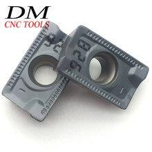 10 pièces APKT1604PDR-76 série IC928 lame en carbure pour acier et acier inoxydable CNC lame de fraisage de machine-outil
