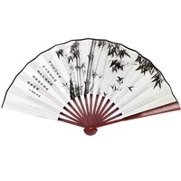 ancient style folding fan folding fan chinese style boys domineering disco jumping summer custom complex classical portable