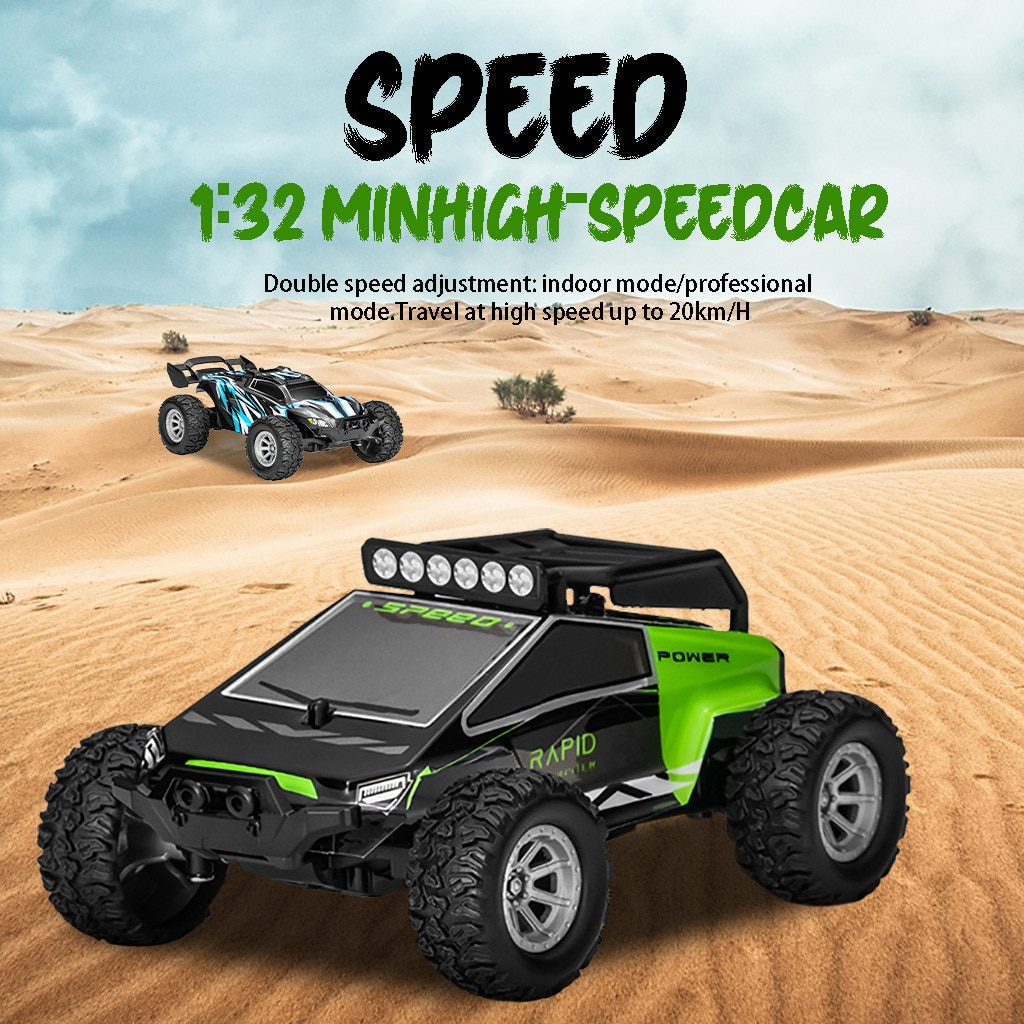 1/32 Rock Crawler Rc Car 4ch 2wd 2.4ghz Mini 25km/h High Speed Auto Rc Off Road Vehicle Car Juguetes