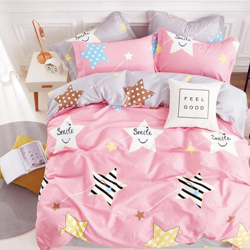 Funda de edredón de dibujos animados para niños, funda de edredón de cama, manta de 100% algodón, funda de edredón individual para niños