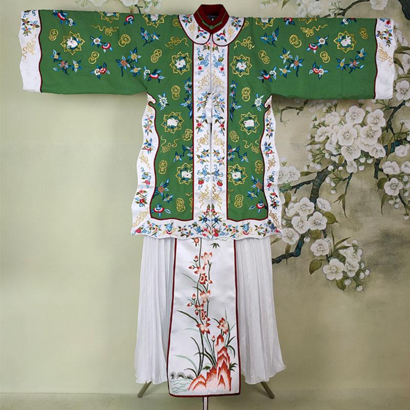 TV Play Original Version High Quality Hanfu Republican Period Rich Women Xiuhefu Traditional Hanfu Dress with Delicate Embroider