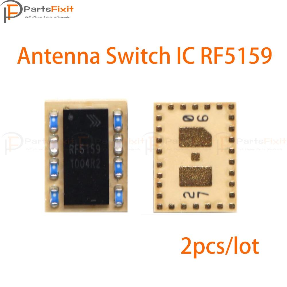 2 шт./лот Антенный переключатель IC RF5159 для 6G 6plus U ASM RF антенный модуль переключения замена IC
