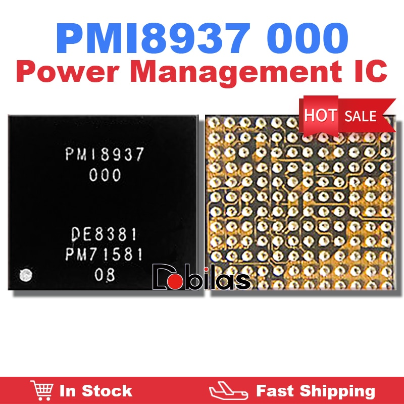 10Pcs/Lot PMI8937 000 BGA Power IC Power Management Supply Chip PMIC Replacement Parts Mobile Phone