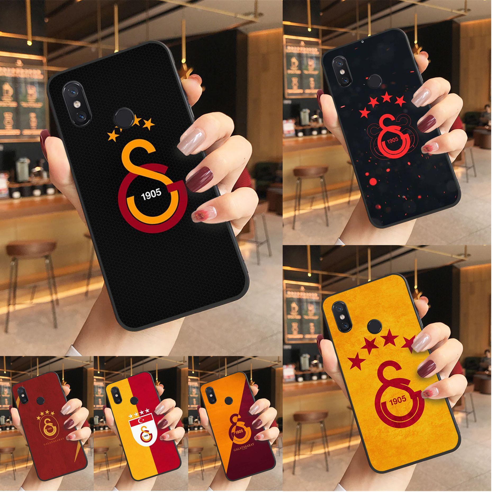 Turkey Galatasaray DIY Luxury High-end phone Case for Xiaomi 5 6 6plus 6x 8 8se 8lite 9 9se case
