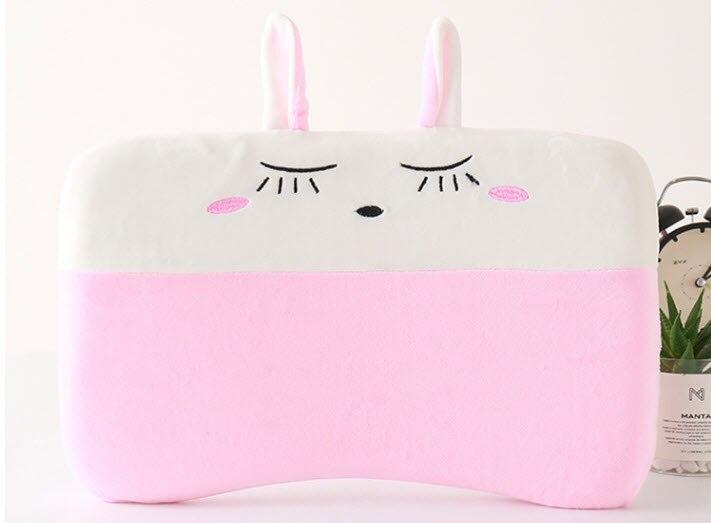 Мягкая детская подушка, Детская Хлопковая Подушка, забавная подушка в виде единорога, подушка с защитой от плоской головы, красивый внешний ...