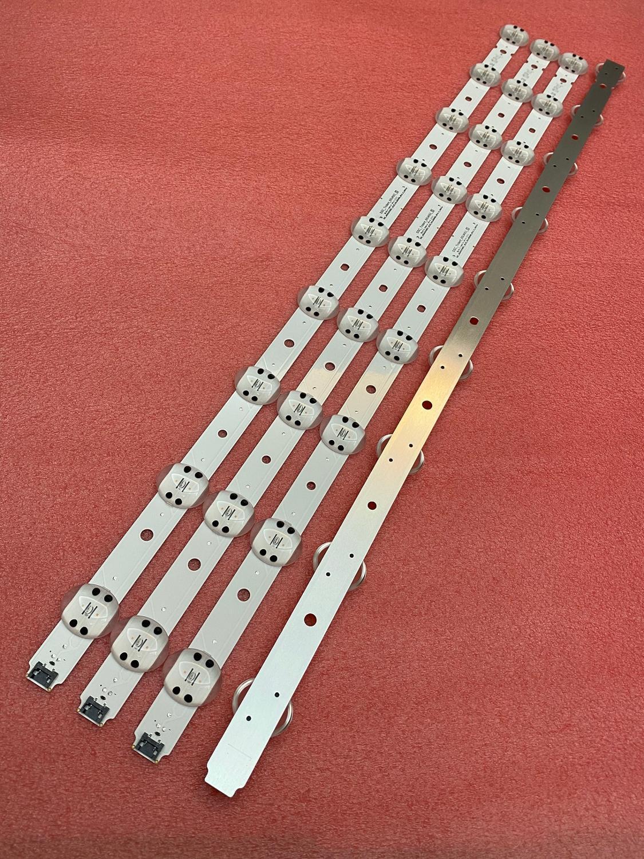 20 قطعة/الوحدة 9LED LED شريط إضاءة خلفي ل LG 65UK6300 65UK6400 65UK6470PLC 65UK6300PUE ترايدنت SSC_65UK63_9LED_SVL650A95 SVL650A75