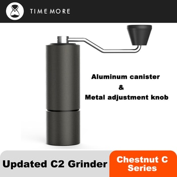 TIMEMORE Chestnut C2 Manual Coffee Grinder Portable Hand High Quality Grinder Grind Machine Mill With Double Bearing Positioning