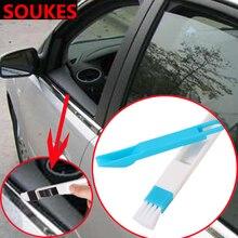 1 set Car Window Air Outlet Gap Cleaning Tool For Peugeot 206 307 407 308 208 3008 Toyota Corolla Yaris Rav4 Avensis Mini Cooper