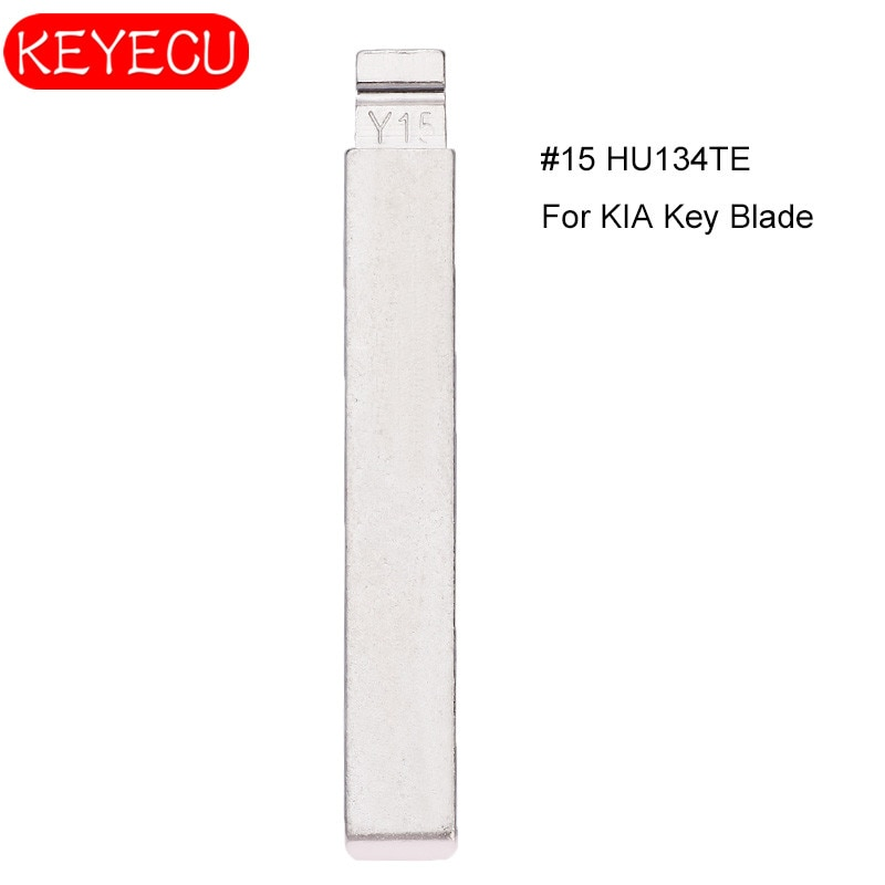 KEYECU 10PCS Controles Remotos KEYDIY Universal Virar Blade15 #, HU134TE para Kia Venga