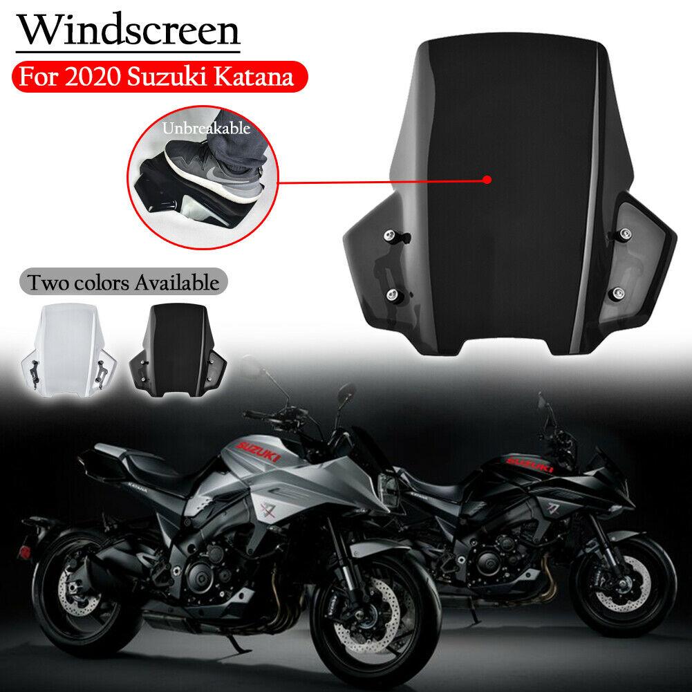 Parabrisas para motocicleta, parabrisas para Suzuki Katana 1000 GSX-S GSXS 1000 S 1000 S, Deflector de viento con soporte de humo, nuevo
