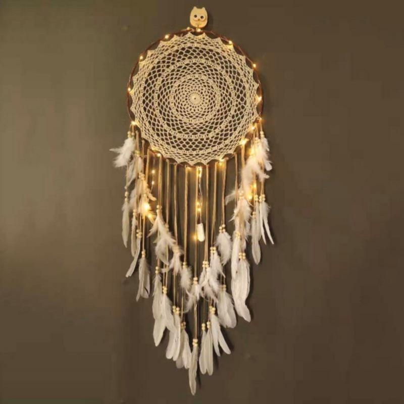 Atrapasueños de Atrapasueños hechos a mano, carillones de viento para el hogar,...