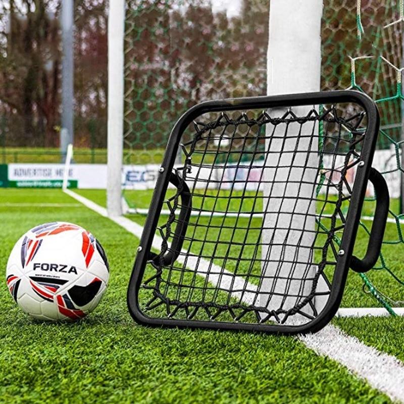 Professional Football Goalkeeper Handheld Bounce Net Practical Goalkeeper Punting Training Accessories Soccer Training Equipment
