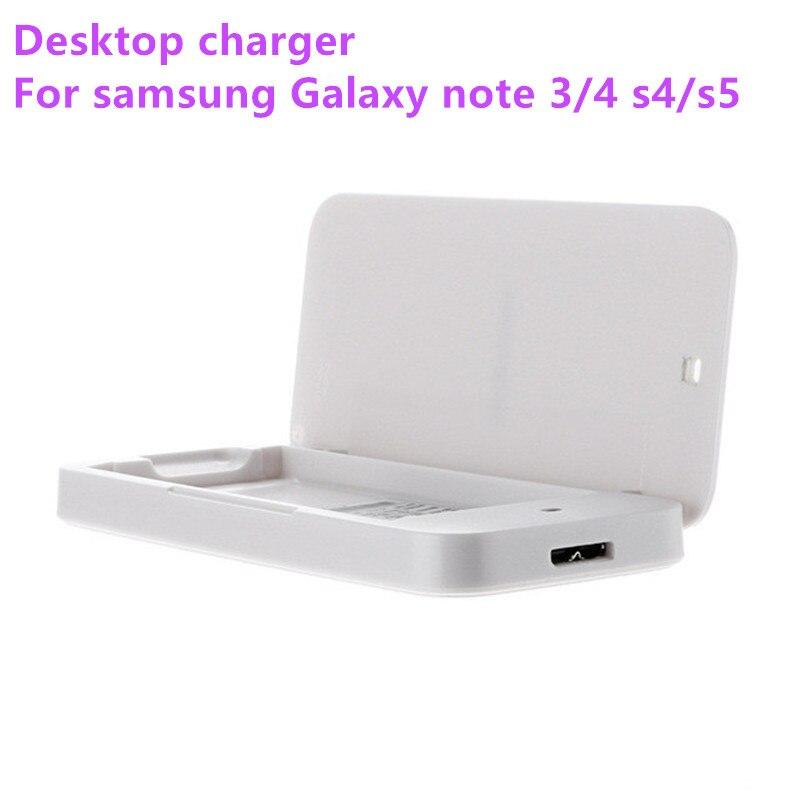 Cargador de batería Original de escritorio USB para Samsung Galaxy Note 3/4/S3/S4/S5 N9000 N910F i9300 i9500 i9600
