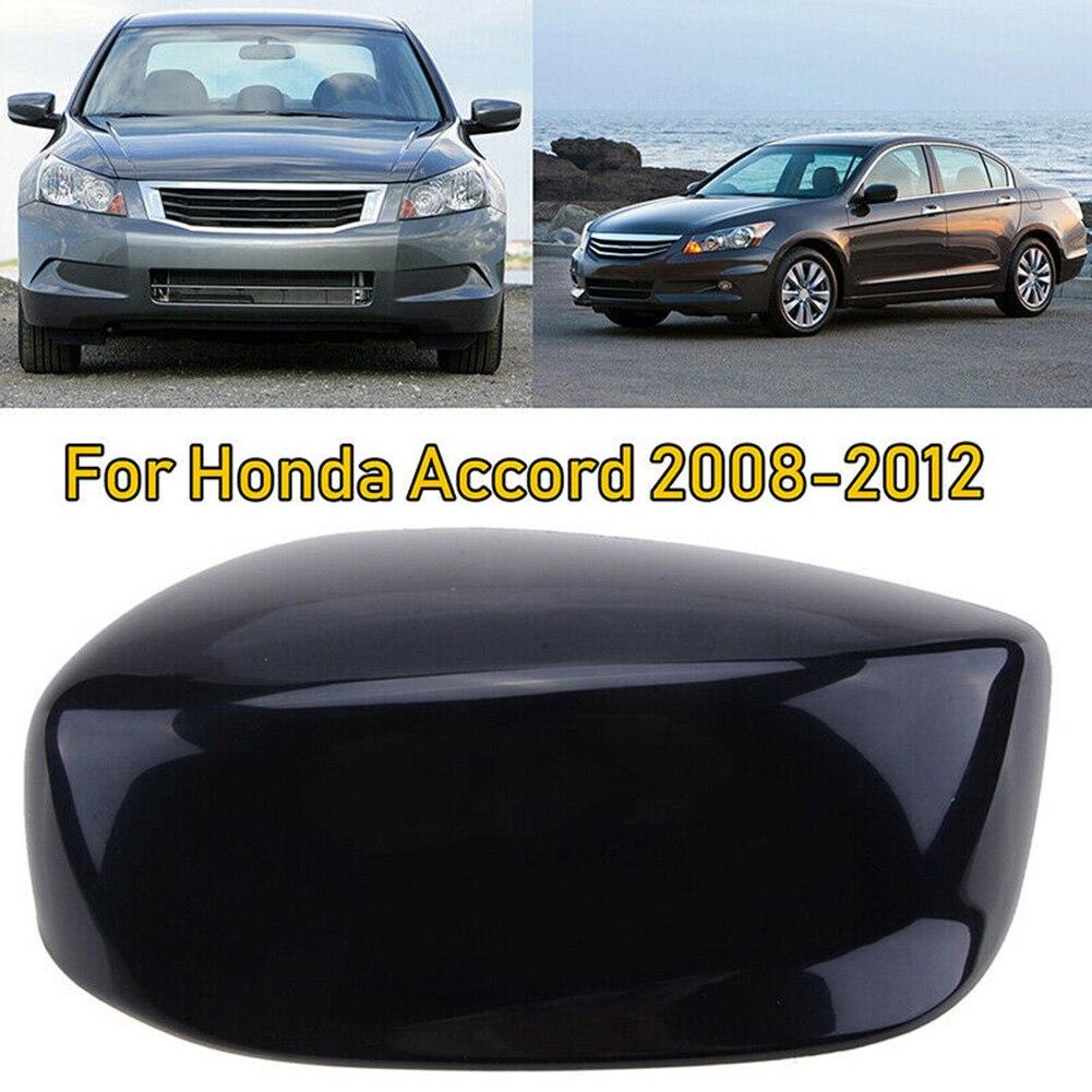 Черная внешняя крышка зеркала заднего вида для Honda Accord 2008-2012 прочная отделка