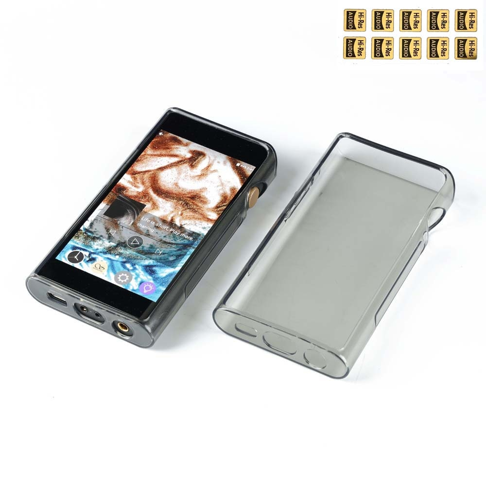 Soft TPU Protective Shell Skin Case Cover for SHANLING M6 M6 21 M6 (21) Hifi MP3 Music Player