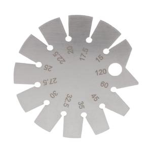 Stainless Steel Bevel Gauge Angle Protractor Range 15°-120° Gage Tools HX6C