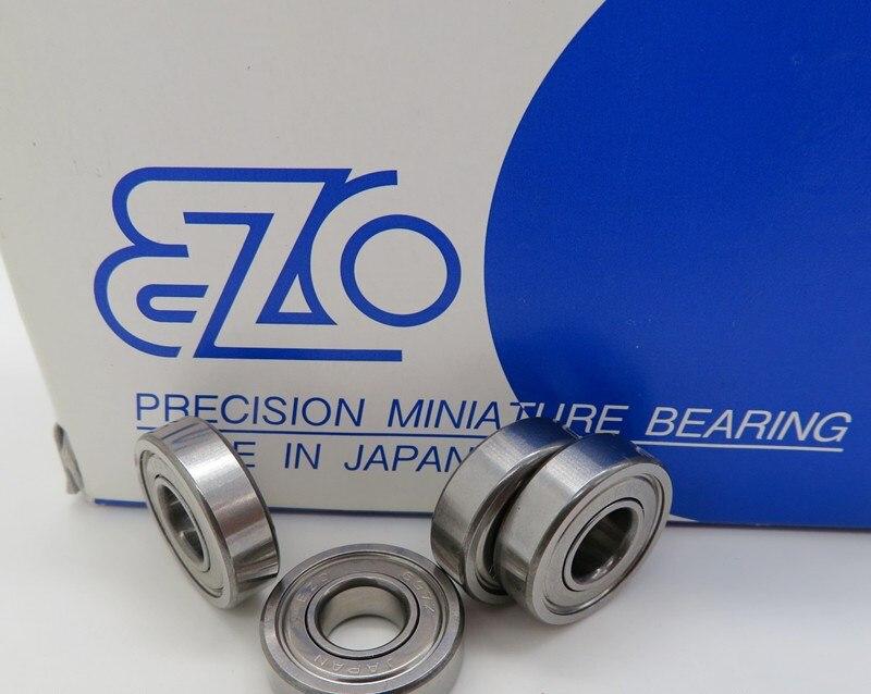 10 قطعة/50 قطعة اليابان EZO عالية السرعة تحمل 697ZZ 7*17*5 مللي متر L-1770ZZ الدقة مصغرة الكرة تحمل 7x17x5