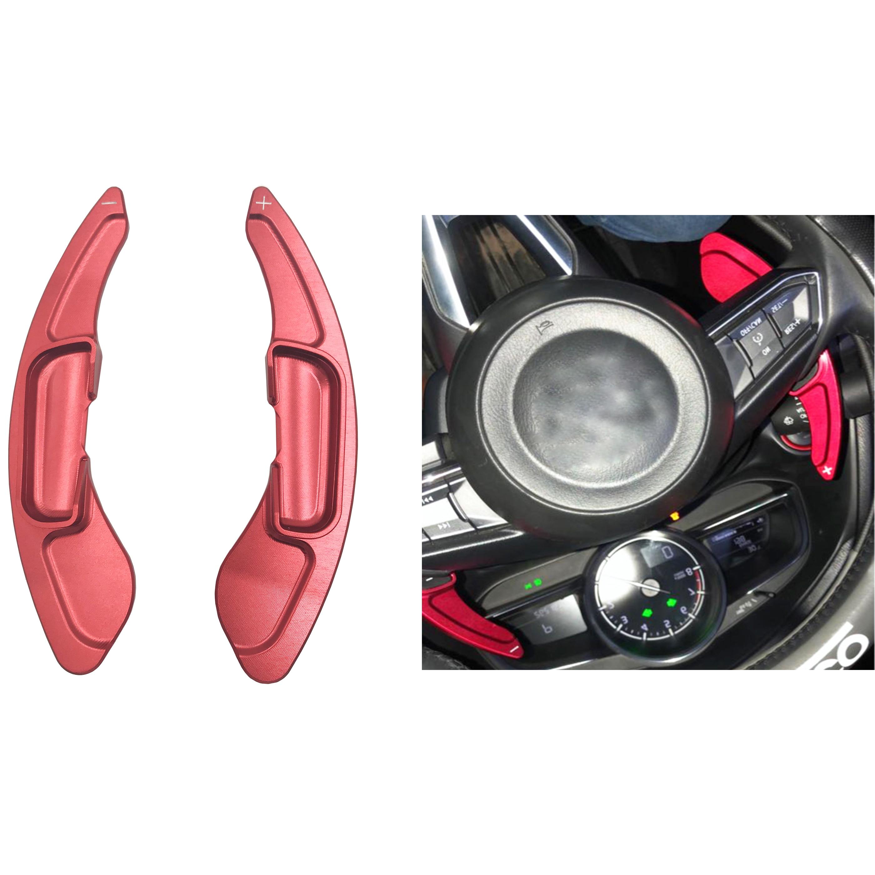 For Mazda 3 6 CX-4 CX-5  Axela Atenza Car Steering Wheel Shift Paddle Shifter Aluminum