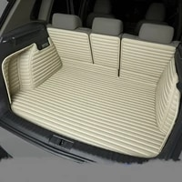 full covered waterproof boot carpets durable custom special car trunk mats for volkswagen eos up polo sharan c trek touareg