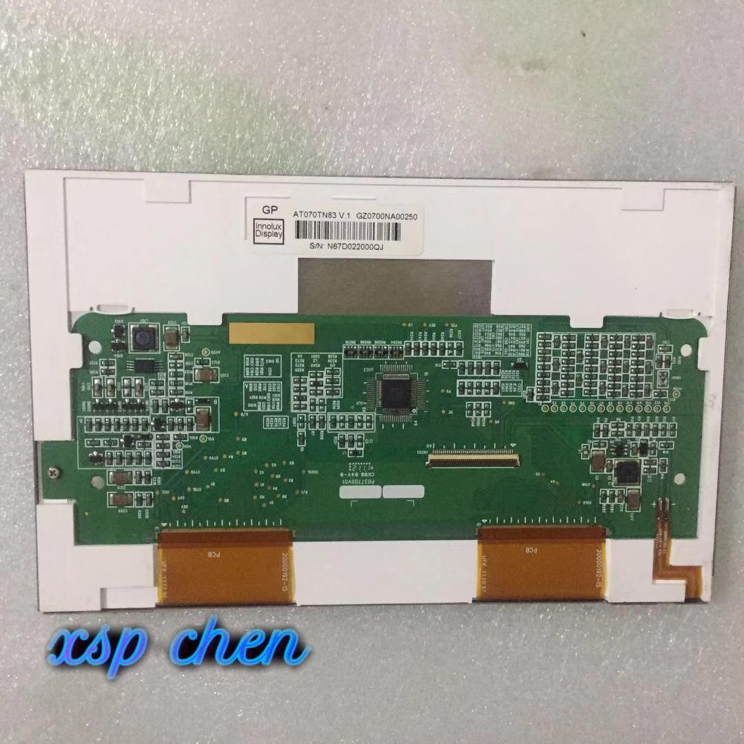 الأصلي جديد 7 بوصة TFT INNOLUX AT070TN83 V.1 AT070TN83-v1.0 40 دبوس شاشة LCD لوحة وحدة تحكم 800x480