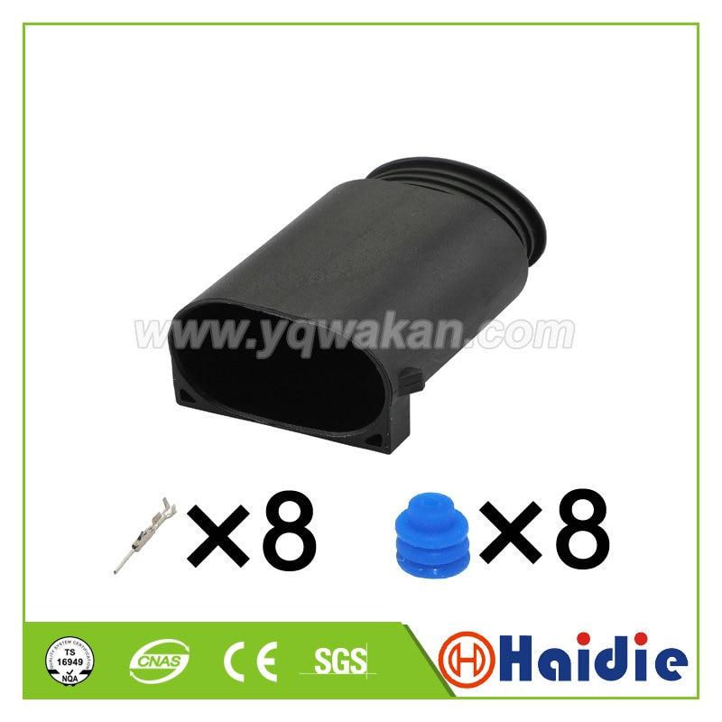 Conector macho de 8 pines 1 Juego, 1-1534229-1 2-1534229-2-1534229-1 1534229-1, cableado automático...