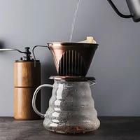 glass coffee cup set portable manual coffee maker tools gift manual coffee grinder stainless steel coffee pot coffeeware da60tc