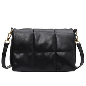 Vintage Square Crossbody bag 2021 Fashion New High quality PU Leather Women's Designer Handbag Shoulder Messenger Bag