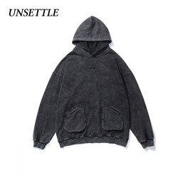 2020 outono/inverno lavado pesado de alta rua hip hop hoodie streetwear moletom harajuku hoodies masculino oversized solto topos