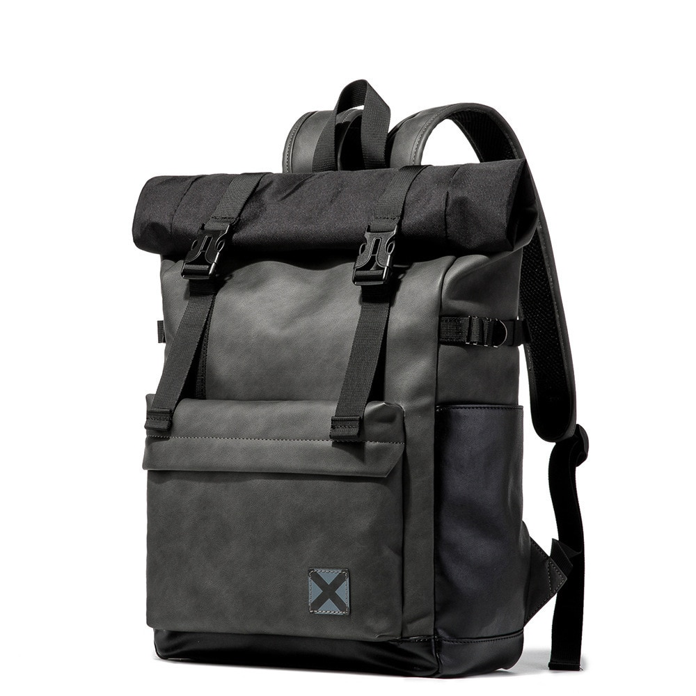 العلامة التجارية الرجال على ظهره كمبيوتر محمول المرأة خمر حقيبة الظهر المراهقين السفر سيدة كلية حقيبة مدرسية K3928
