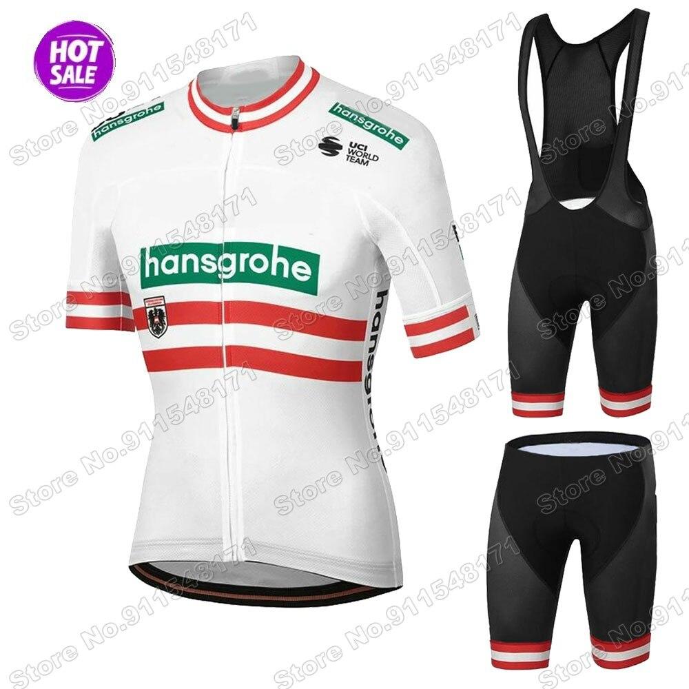 Boraful-Conjunto de Ropa de ciclismo Hansgrohe, Maillot austriaco para bicicleta de montaña,...