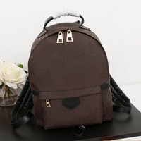 Women Mini Backpack Bags Luxury Brand Classics Canvas Palm Springs Shoulder Bag Famous Design Ladies Rucksack  Knapsack
