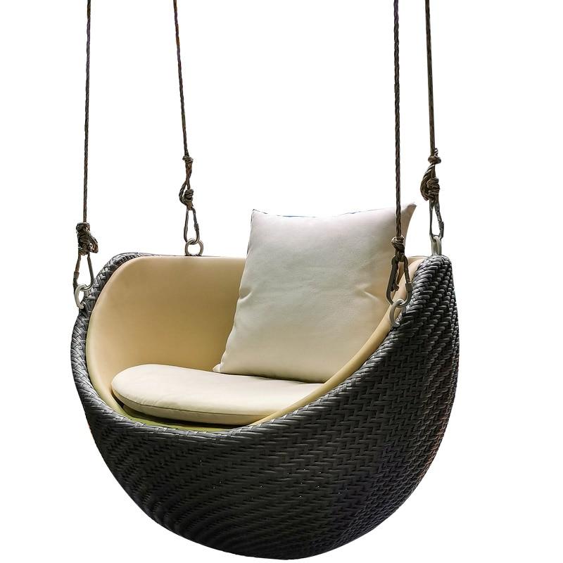 TT شراعية المنزل مصمم واحد مهد كرسي أرجوحة داخلية كرسي متأرجح شرفة عش الطائر كسول