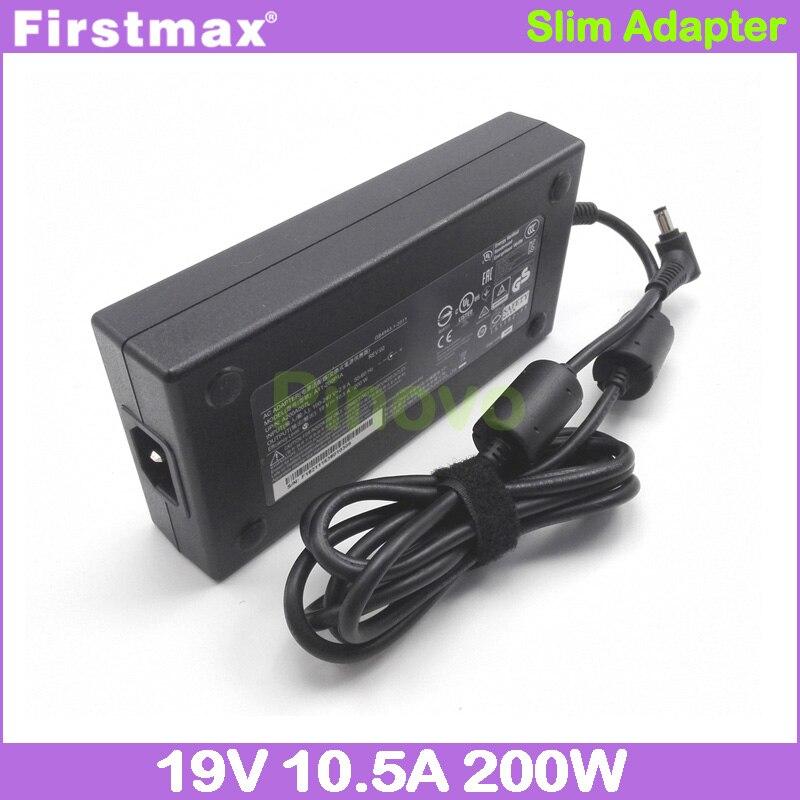AC محول 19V 10.5A 19.5V 10.3A لجيجابايت شاحن للكمبيوتر المحمول ايرو 15X v8 Aorus X5 v3 v4 v5 v6 v7 v8 P35X P37X P56X v5