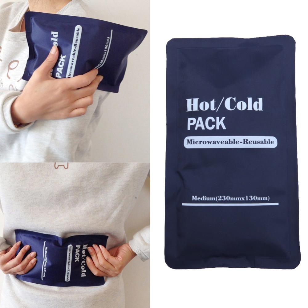 Hot and Cold Gel Ice Pack Reusable Therapy for Knee, Arm, Elbow, Shoulder, Back Pain Relief