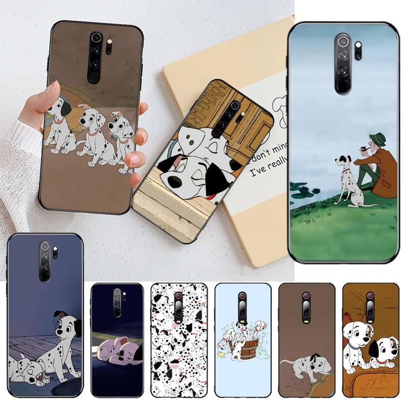 101, Dalmatians, funda de móvil de Aventura de Londres cien por cien, Capa para Redmi Note 8 8A 7 6 6A 5 5A 4 4X 4A Go Pro Plus Prime