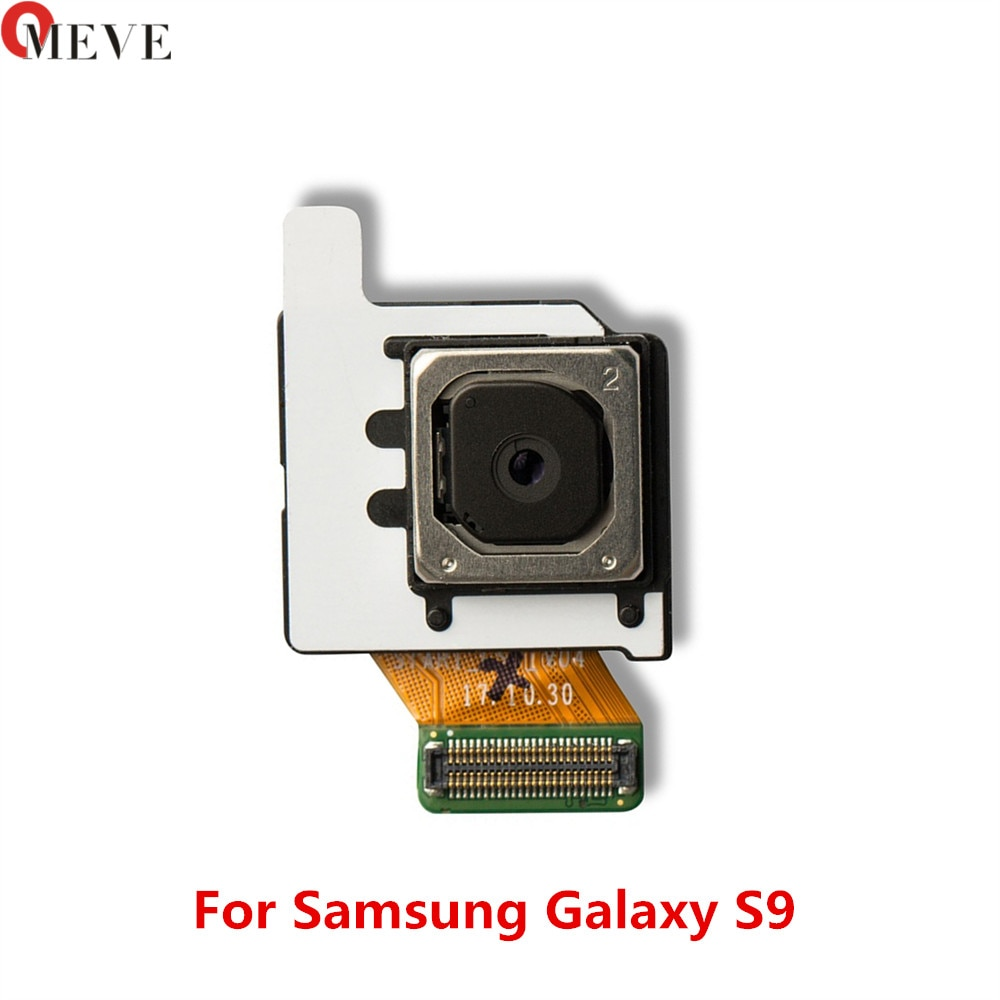 5 unids/lote 12 millones de píxeles de reemplazo de partes trasera Cámara Flex Cable para Samsung Galaxy S9 SM-G960U G960F