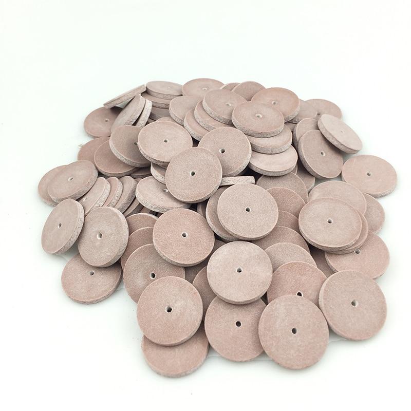 100 pcs Dental Silicone Rubber Polishing wheels for Dental Jewelry Rotary Tool Dental Lab Supplies dental brush polish