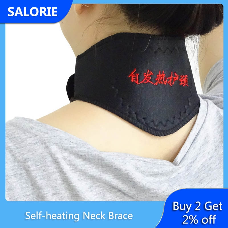 Self-heating Neck Brace Cervical Massager Protection Spontaneous Heating Belt Support Neck Pain Reli