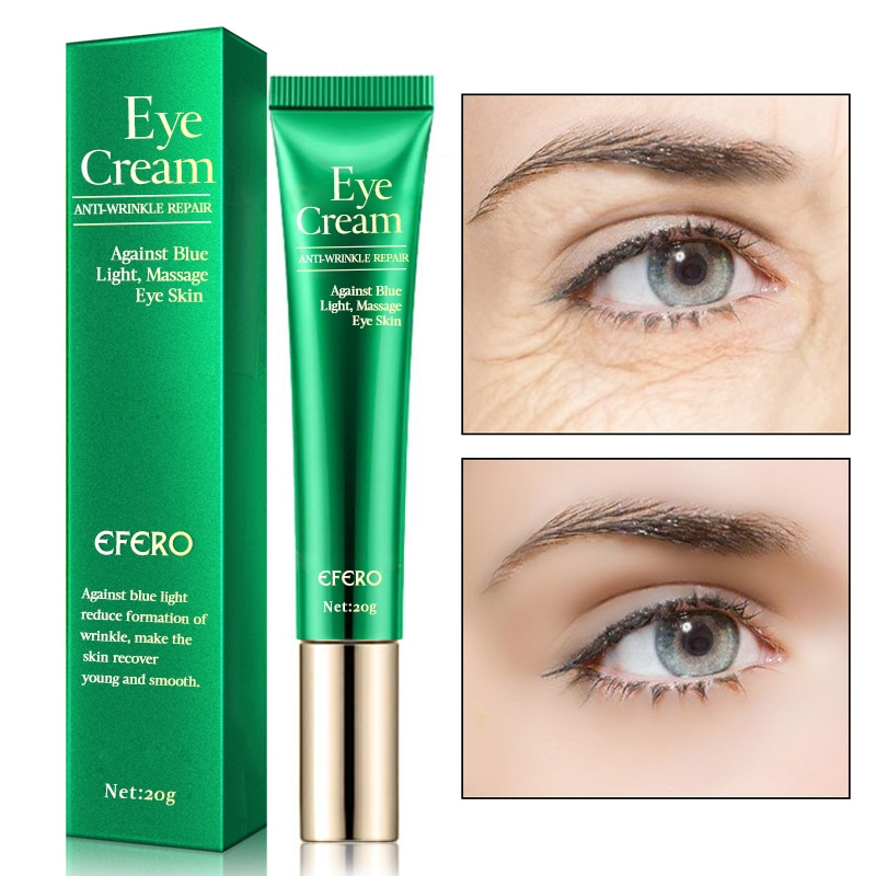 efero eye cream skin care eye essence whitening anti aging anti wrinkle remove dark circles eye creams puffy eyes face cream EFERO Anti-Wrinkle Eye Cream Against Blue Light Remove Dark Circles Lightening Eye Cream for Eyes Care Anti-aging Eye Creams
