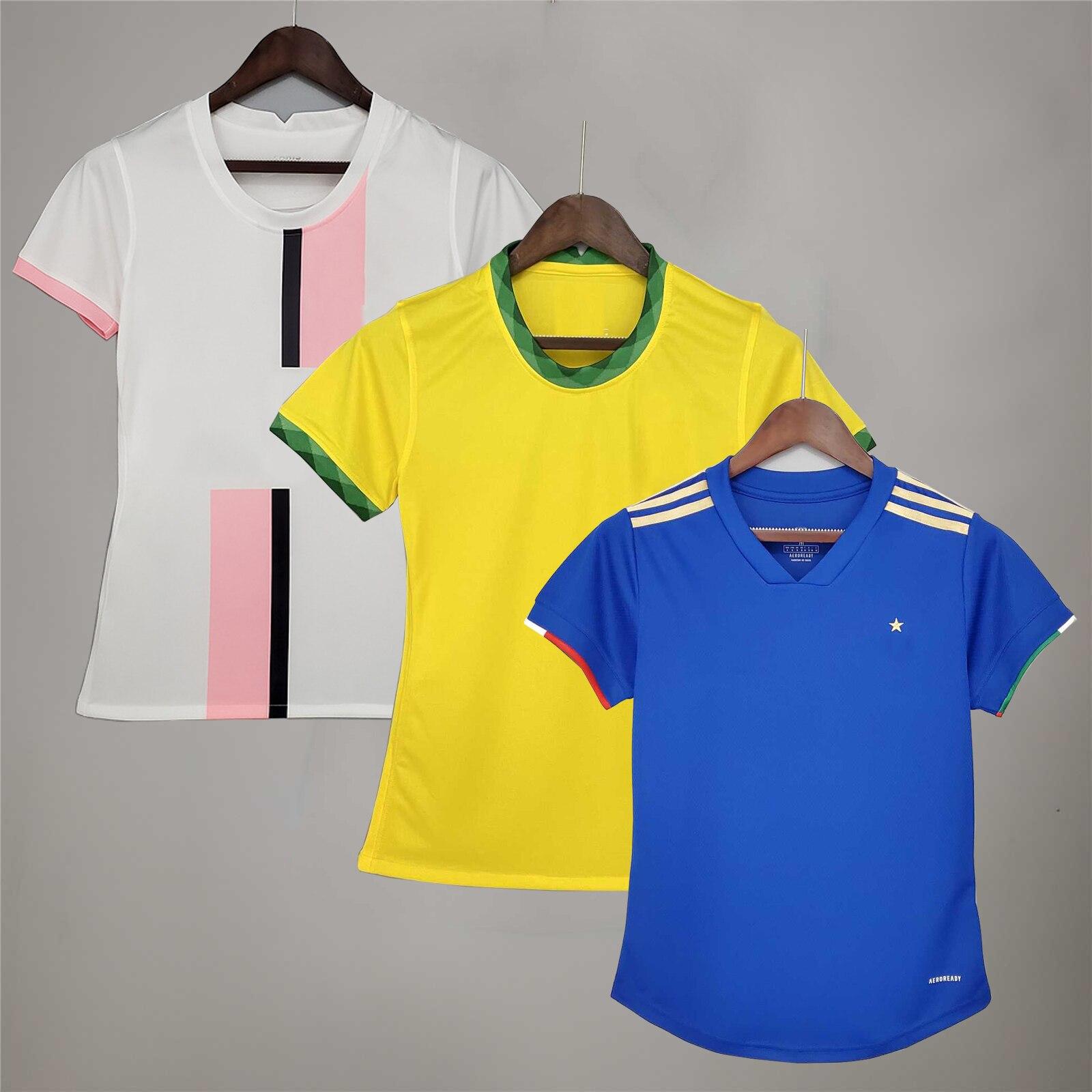 2021, женская футбольная форма без рисунка, высококачественные женские футболки для фанатов, футболки для девочек, женские футболки с именем ...