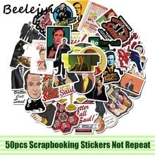 50pcs Better Call Saul tv show decal scrapbooking diy stickers home decoration phone laptop waterproof cartoon accessories
