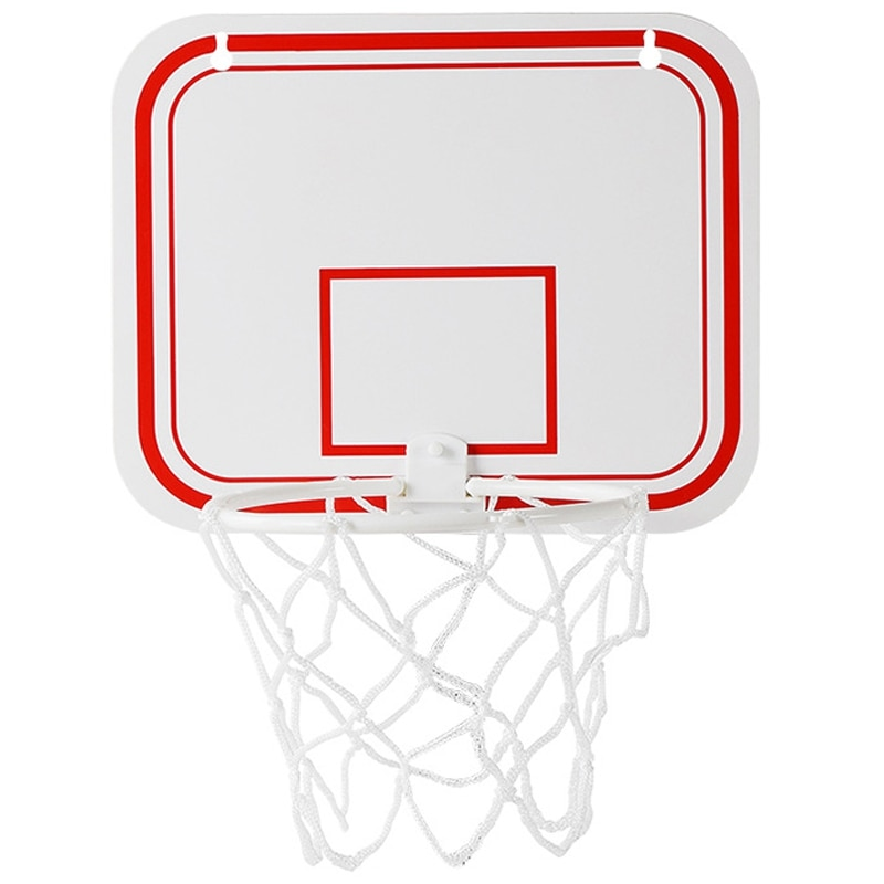 Clipe de aro de basquete de escritório do esporte para o lixo pode jogo de basquete pequeno clipe de placa de basquete para cesta de resíduos