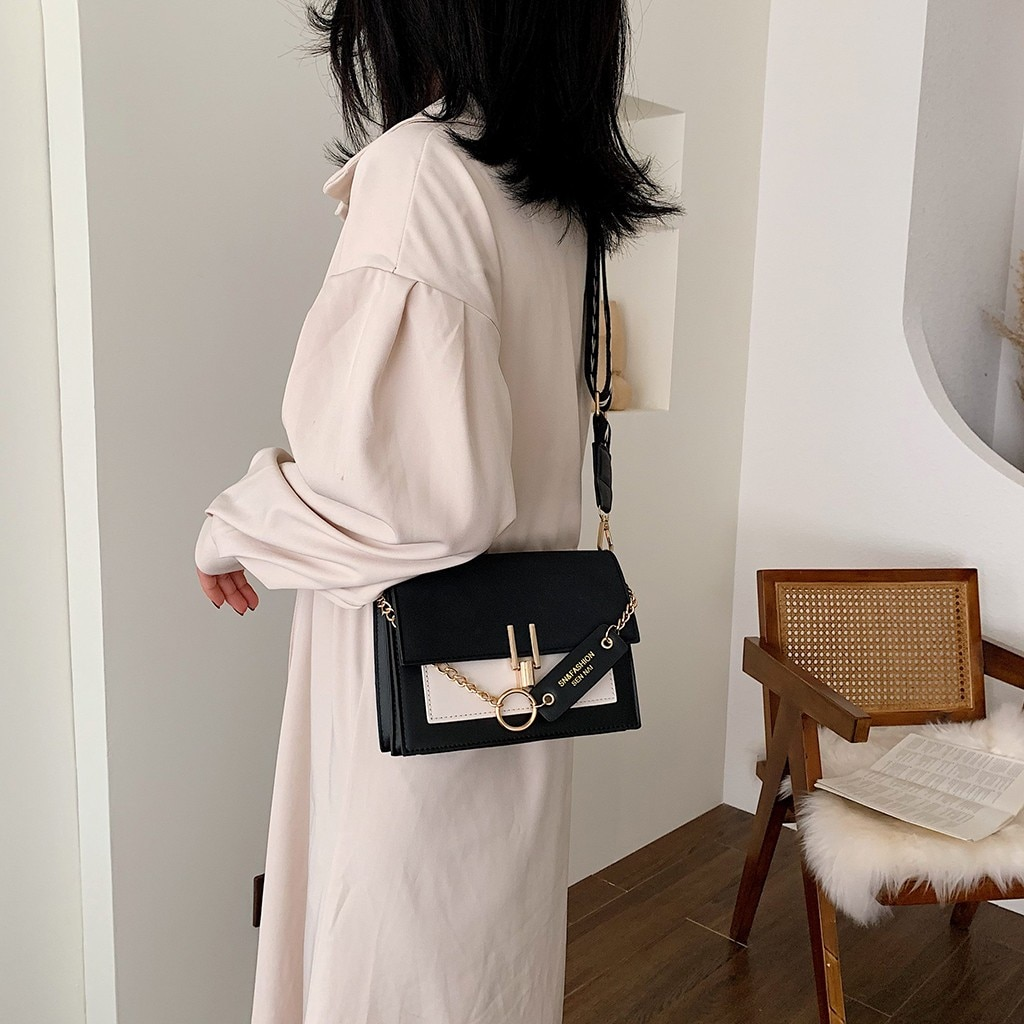 2020 nuevo bolso de cuero de moda Casual bolso bandolera salvaje de hombro diseñador famosa marca sac a main femme de marque luxe #40