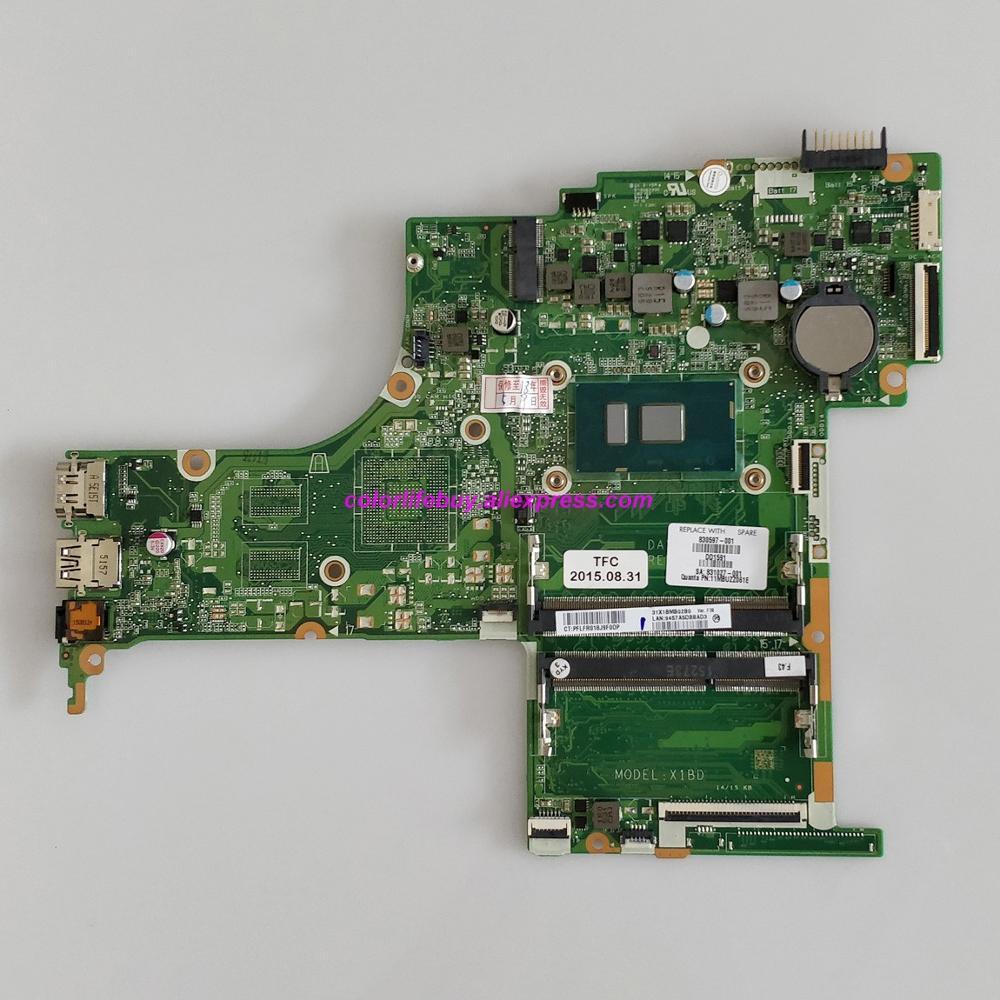 حقيقي 830597-001 830597-601 DAX1BDMB6F0 UMA ث i5-6200U وحدة المعالجة المركزية لوحة رئيسية لأجهزة HP الكمبيوتر المحمول 15-ab262TU 15-ab 15T-AB100 الكمبيوتر المحمول