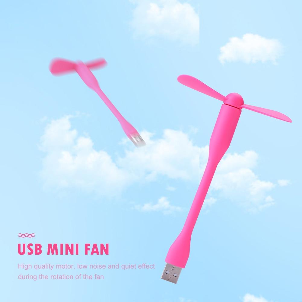 Hot sale USB Fan Flexible portable removable USB Mini Fan For all Power Supply USB Output USB Gadgets