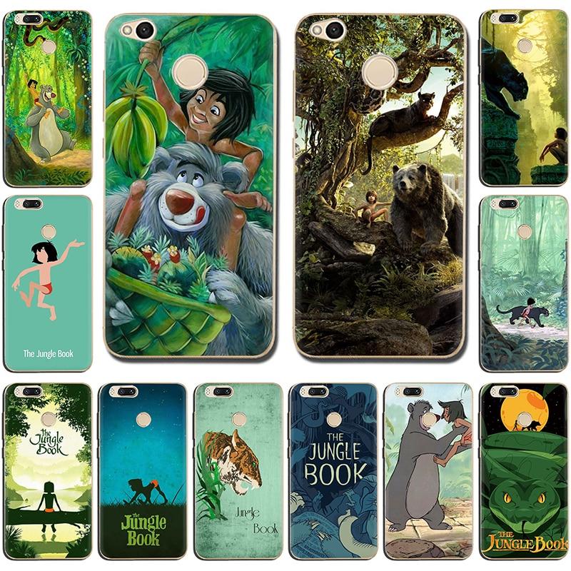 The Jungle Book Mowgli Hard Phone Case for Xiaomi Mi 8 A2 Lite 5 5S 6 8SE 9 9SE A1 Mix 2s Max 3 F1 CC9 CC9e A3 9T Pro