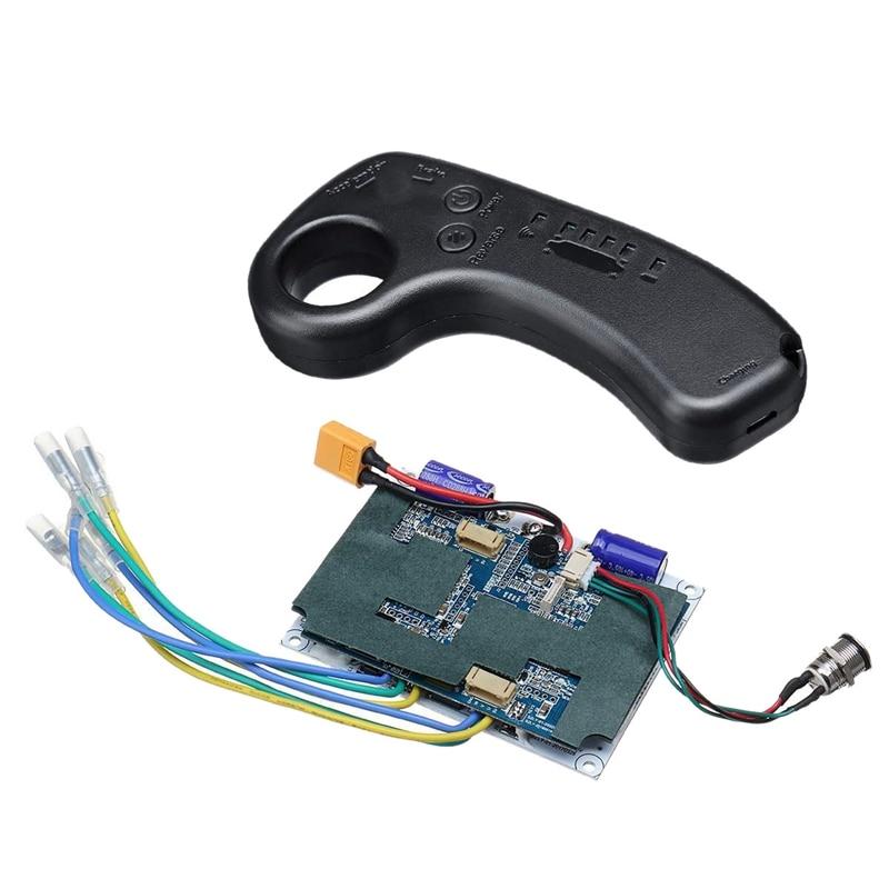 36V Dual Motor Electric Skateboard Longboard Drive Remote Control Zhengxuan Double Drive Wheel Motor Control Board Esc Hub Remot